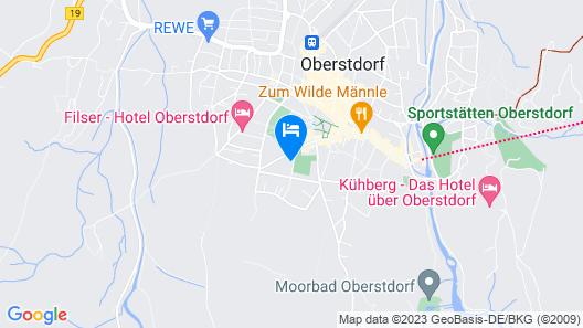 Ferienwohnungen Fuggerhof Map
