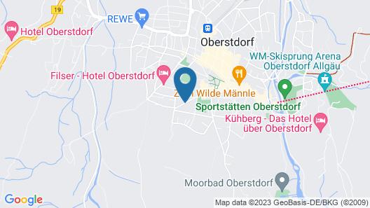 Oberstdorfer Ferienwelt Map