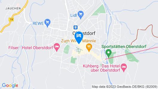 Hotel Mohren Map