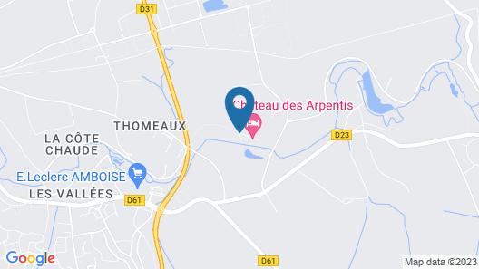 Château des Arpentis Map