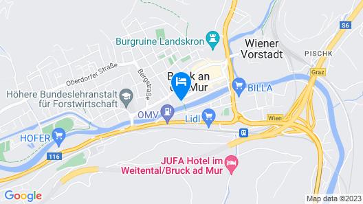 Hotel Landskron Map