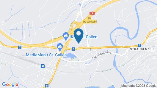 Hotel NewStar Map