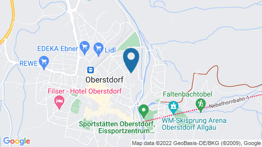 Hotel Sonnenheim Map