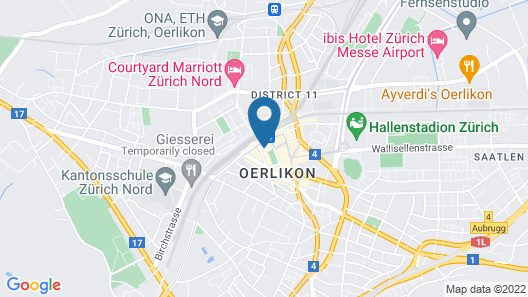 becozy Self Check-in and Pop-up Hotel Map