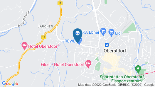 Apartment Fellhornstrasse in Oberstdorf - 2 Persons, 1 Bedrooms Map