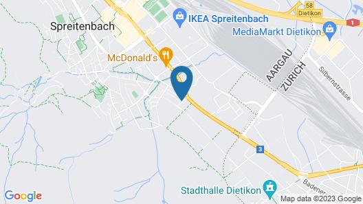 Motel City Spreitenbach Map