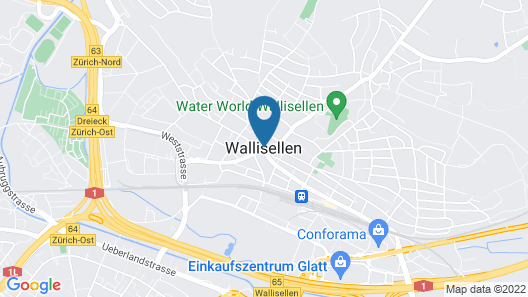 Harry's Home Zürich Map