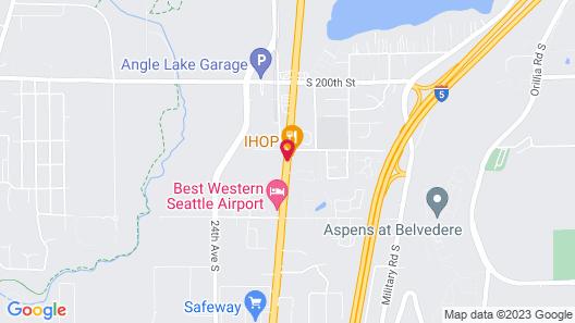 Sleep Inn - SeaTac Airport Map