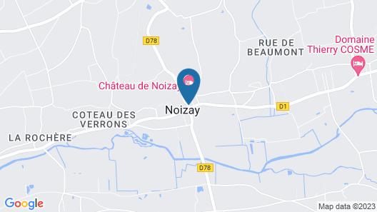 Château de Noizay Map