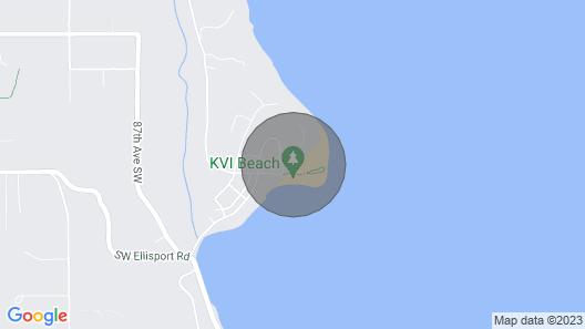 Vashon's KVI Beach House: Reduced Nightly Rates! Map