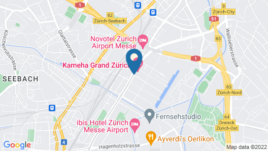 JOYN Zurich - Serviced Apartments Map