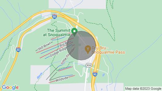 Après-ski Chalet at Summit West Map