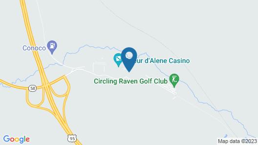 Coeur D'alene Casino Resort Hotel Map