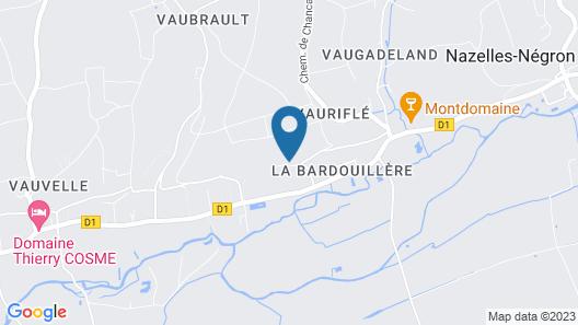 Luxury House on the Chateau des Ormeaux's Park Map