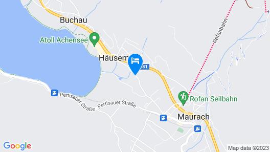 Hotel Sonnalp Map