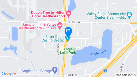 Country Inn & Suites by Radisson, Seattle-Tacoma International Airport, WA Map