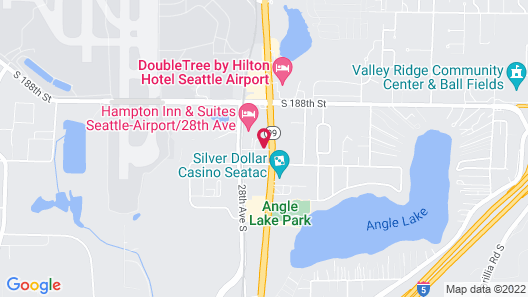 Wingate by Wyndham SeaTac Airport Map