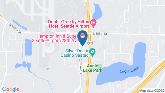 Aloft Seattle Sea-Tac Airport Map