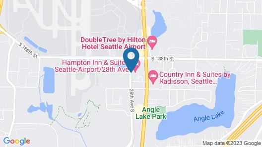 Hampton Inn & Suites Seattle-Airport/28th Ave Map
