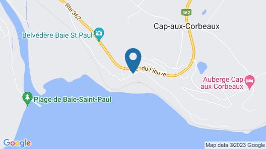 Gîte Au Perchoir Map