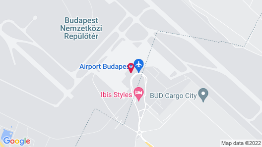ibis Styles Budapest Airport Map
