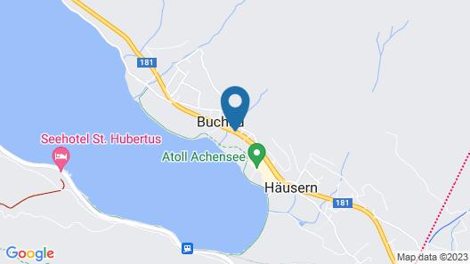 Kinderhotel Buchau  Map