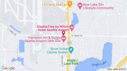 La Quinta Inn & Suites by Wyndham Seattle Sea-Tac Airport Map