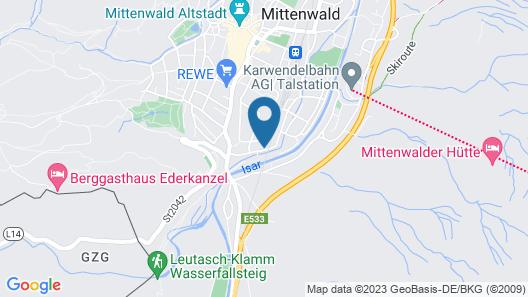 Mittenwald-Ferien Map