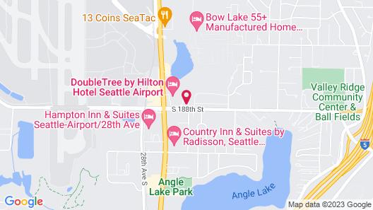 Hilton Garden Inn Seattle Airport Map