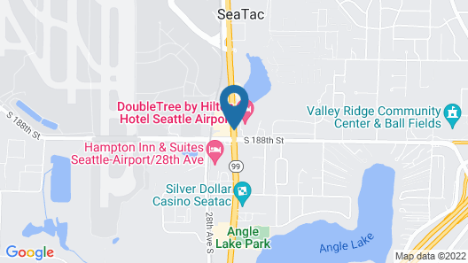 DoubleTree by Hilton Seattle Airport Map