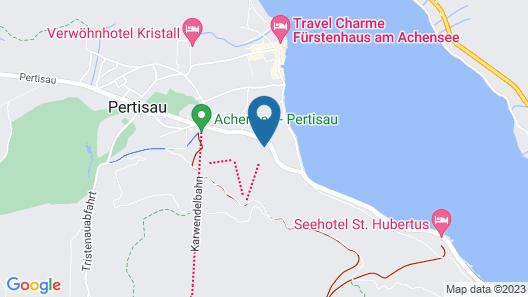 Hotel Bergland Map