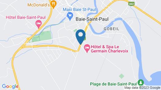 Hôtel & Spa Le Germain Charlevoix Map