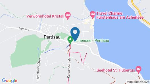Das Pfandler Hotel Map