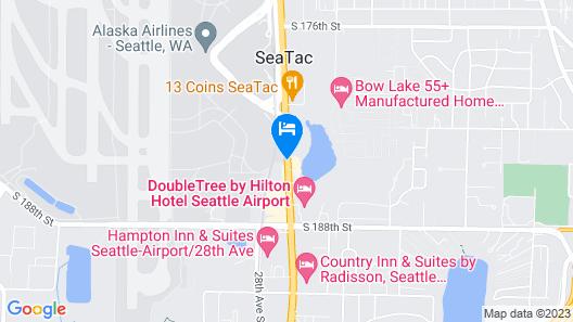 Coast Gateway Hotel Map