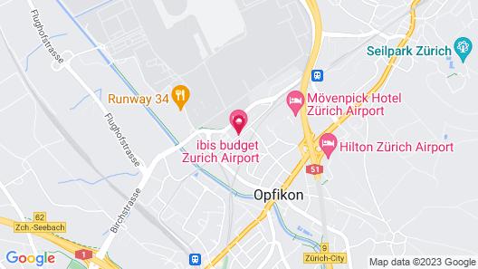 ibis budget Zurich Airport Map