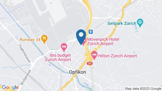 Movenpick Hotel Zuerich-Airport Map