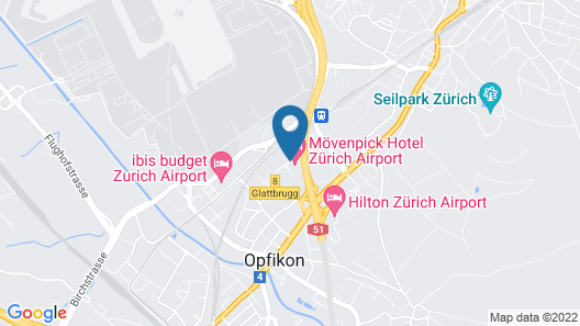 Stay at Zurich Airport Map