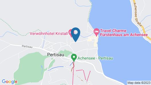 Aktiv & Spa Resort Rieser Map