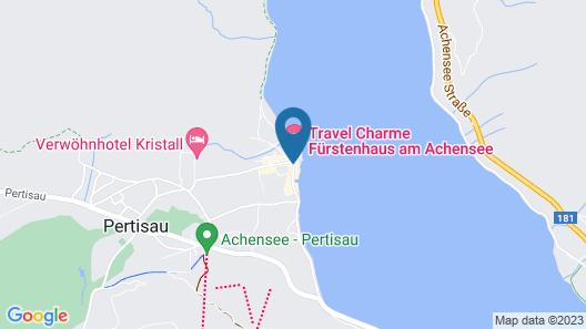 Travel Charme Fürstenhaus am Achensee Map