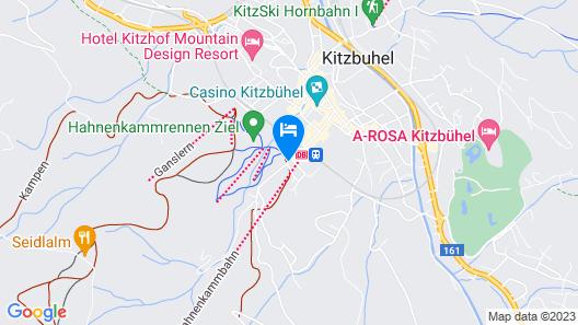 Hotel Kaiserhof Kitzbuehel Map