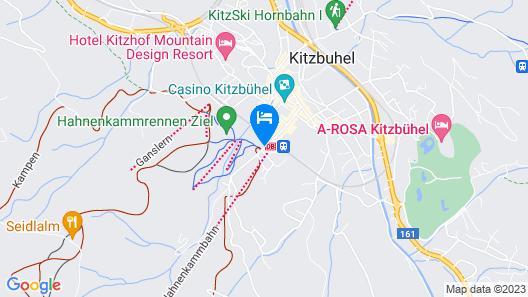 Aktiv Hotel Schweizerhof - Kitzbühel Map