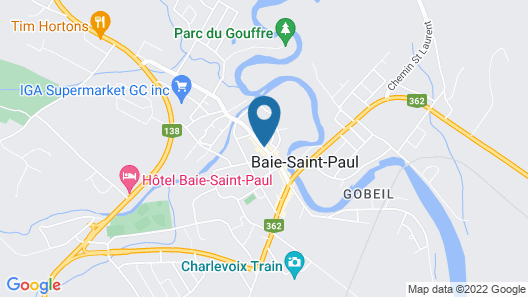 Auberge La Muse Map
