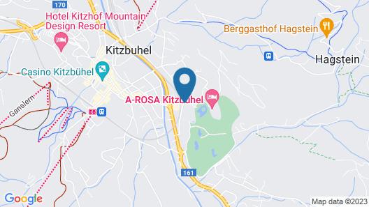 A-ROSA Kitzbühel Map