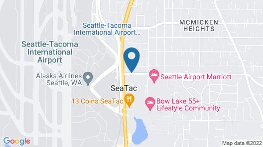 Clarion Hotel Seattle Airport Map