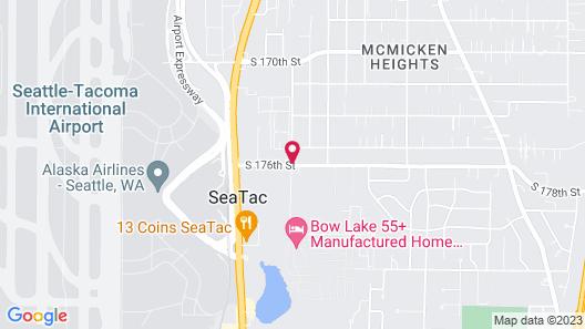Seattle Airport Marriott Map
