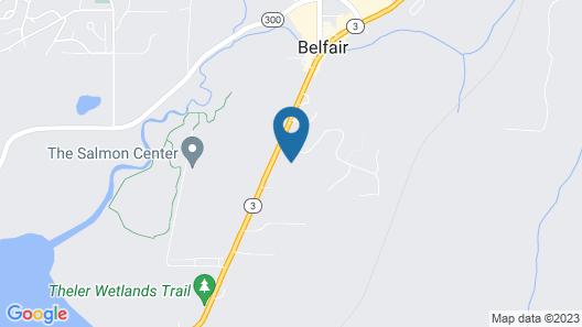 Belfair Motel Map