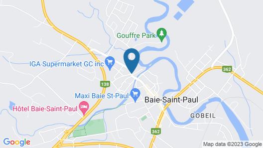 Auberge La Grande Maison Map