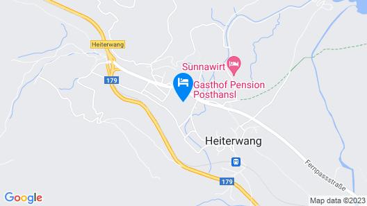 Gasthof Pension Posthansl  Map