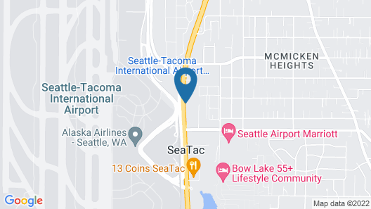 Crowne Plaza Seattle Airport, an IHG Hotel Map