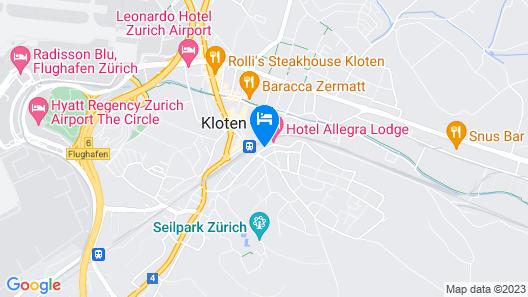 Hotel Allegra Lodge Map